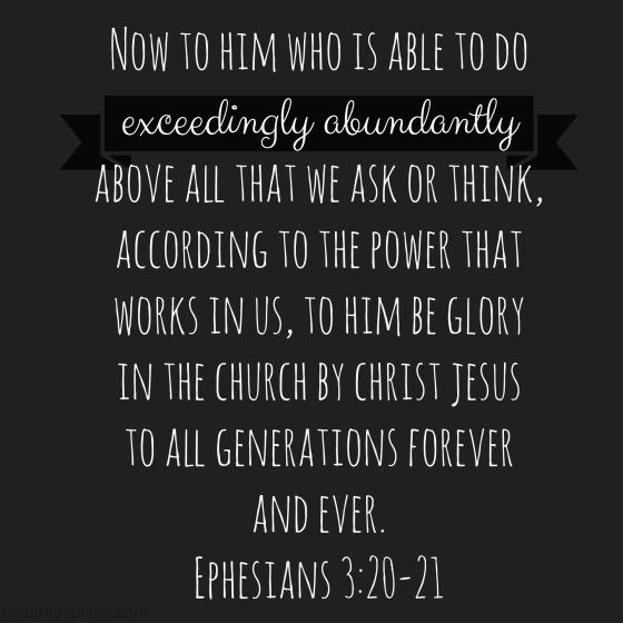 exceedinglyabundantly